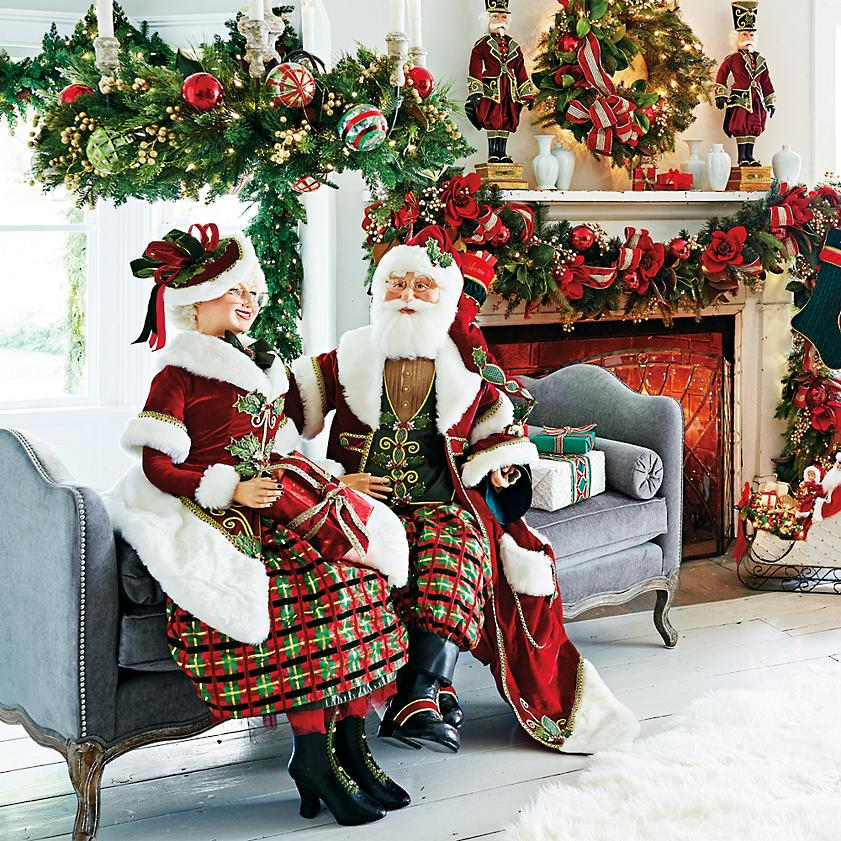 Mr Mrs Clause Tartan Tradition